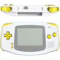 eXtremeRate GBA Pulsanti Tasti Set Ricambio per Gameboy Advance-NON Include Console di Gioco Portatile-Oro Cromo