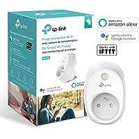 TP-Link Prise connectée WiFi avec mesure de consommation, compatible avec Amazon Alexa (Echo et Echo Dot), Google Assistant et IFTTT pour la commande vocale, aucun hub requis - HS110(FR)