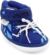 CHiU Chu-Chu Blue Shoes with Lace for Baby Boys & Baby Girls
