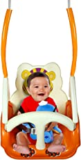 Panda Goyal's Baby Musical Swing - With Multiple Age Settings Of 4 Stages - Orange