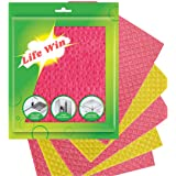 Life Win Cleaning Sponge Wipe 20 X 18cm (Pack of 5)