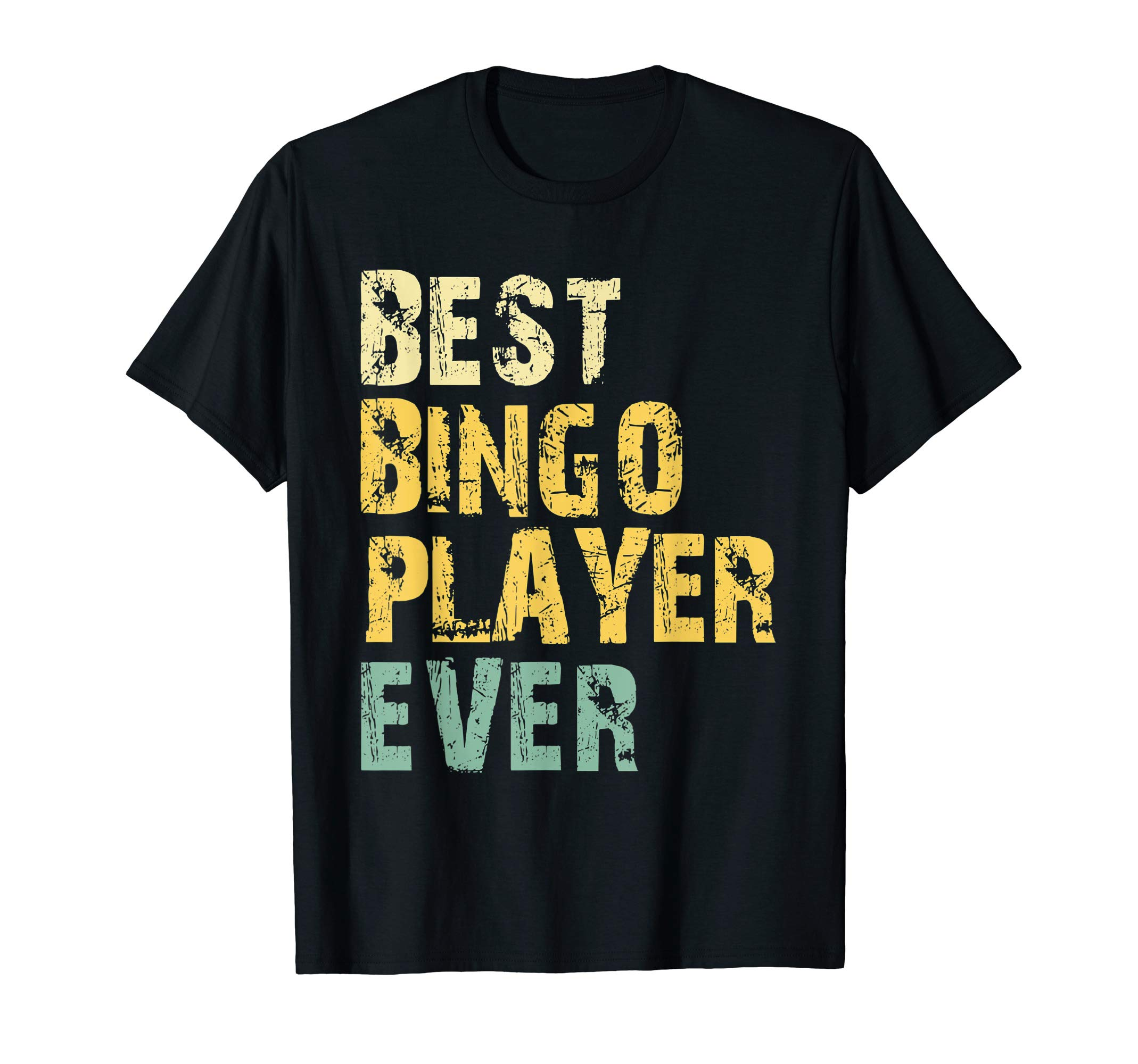 Best-Bingo-Player-Ever-Vintage-Retro-Gift-T-Shirt
