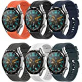 Supore Rem kompatibel med Huawei Watch GT2 46 mm/klocka GT 46 mm/klocka GT Active/Watch 2 Pro/Honor Watch Magic/Galaxy Watch