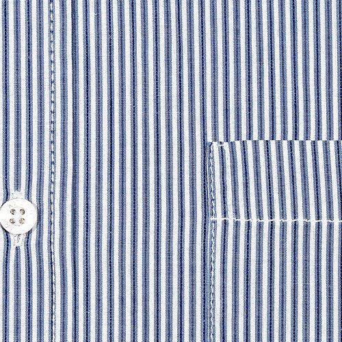 Kitaro, langarm Hemd, 101104, navy weiß gestreift [8385] Navy