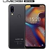 UMIDIGI A3 Pro(2018) Dual SIM Android 8.1 Smartphone ohne Vertrag günstig 5.7 Zoll(14.47cm) 19:9 Display, Benachrichtigung LED, Global LTE Bands, Triple Slot, 32GB+3GB, 12MP + 5MP Dual Kamera-Grau