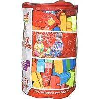 Toddle Bee - Mega Building Blocks Set ,Creative Blocks & Construction Toys for Kids with 120 Pcs Set in Zipper Bag