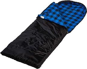 skandika Dundee Decken-Schlafsack | Luxus-Qualität | Sehr geräumiger Schnitt | bis -20°C | 220x80 cm | koppelbar (2 Farben)