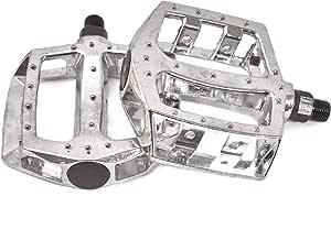 pr Motodak Pedale BMX Race Plateforme Metal Argent d 1//2