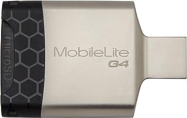 Kingston Digital MobileLite G4 USB 3.0 Multi-Function Card Reader (FCR-MLG4)