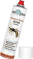 Ida Plus Wespenspray Ultra- Spray gegen Wespen, Hornissen   Bekämpft und entfernt alle Wespen, Wespennester in Haus, Garten, Dachböden   Schnelle und zuverlässige Wespenabwehr