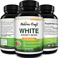 CALIFORNIA PRODUCTS Highest Grade, Carb Blocker White Kidney Bean Extract