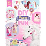 Depesche- DIY Paper Fun, Miss Melody, Aprox. 21,5 x 27,5 x 1 cm, Multicolor (10869)