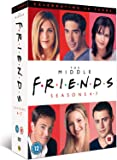 Friends: The Middle [Seasons 4-7] [20th Anniversary Edition] [DVD] [2014] [1997]