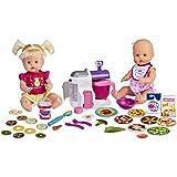 Nenuco - Hermanitas Traviesas en la Cocina, 2 Muñecas Bebés Comiditas, Multicolor, (Famosa 700015155)