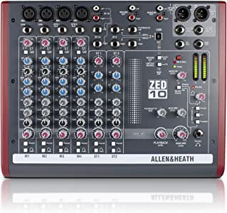 Allen Heath–allen-heath zed-10Miscelatore 4ingressi USB allenheath zed10
