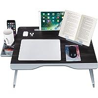 NEARPOW Table de Lit Ordinateur Portable Pliante XXL Extra Large Plateau de Lit Réglable Multifonction avec Tiroir de…