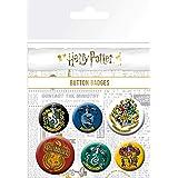 Harry Potter BP0698, Distintivi, Pacco da 6