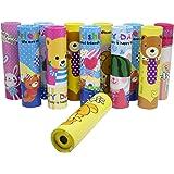 Asera 12 pcs Birthday Return Gifts Kaleidoscope - Children Educational Fun Magic Science Toy