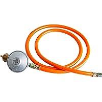 Gasdruckminderer (Niederdruckregler) mit Gasschlauch 50 mbar (Set)