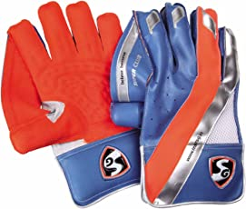 SG Super Club Wicket Keeping Gloves, Youth (Color May Vary)