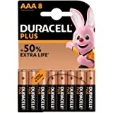 Duracell Plus AAA Batteries Pack of 8