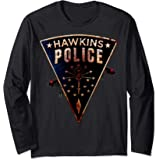 Netflix Stranger Things Hawkins Police Rats Patch Manche Longue