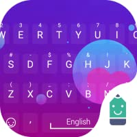 Purple Mixed Theme&Emoji Keyboard
