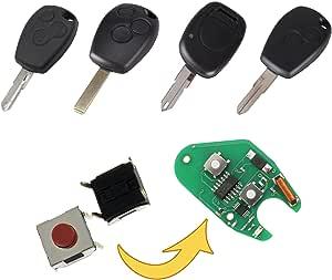 Myshopx Microtaster Taster Fernbedienung Schlüssel Fernbedienung Taster Micro Smd Taster Autoschlüssel Mp09 Auto