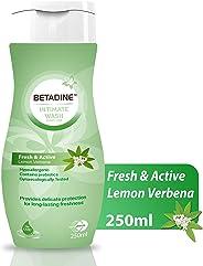 BETADINE INTIMATE WASH DAILY USE - FRESH & ACTIVE LEMON VERBENA250ML