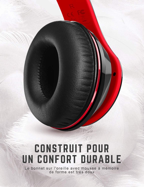 Casque Bluetooth Sans Fil Bluetooth Casque Audio Pour Tv Micro
