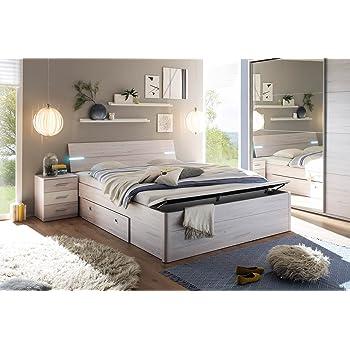 Bett, Bettanlage, Schlafbett, Schlafzimmerbett, Doppelbett, 180x200 ...
