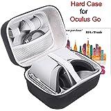 Sac de Transport pour Oculus Go 32GB/64GB, Housse de Protection Rigide Boîte de Rangement Transporter Sac pour Oculus Go VR Headset et pour Ses Accessoires