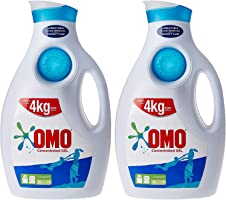 OMO Active Auto Laundry Detergent Liquid, 2 Litre (Twin Pack)