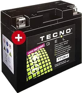 Yt12b 4 Tecno Gel Batterie Für Tdm 850 Baujahr 1996 2001 Auto