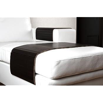 moebelhome sofatablett gro 80cm ablage tablett braun f r hocker oder longchair couch tablett. Black Bedroom Furniture Sets. Home Design Ideas