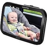 Espejo Retrovisor Coche de VicTsing para Vigilar al Bebé en el Coche, 360° Ajustable Irrompible Interior Espejo Coche Bebé, p