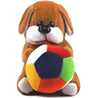 Babique Soft Toy Kids Animal Teddy Bear Birthday Gift Stuffed Soft Plush Toy Love 19 cm (Dog)