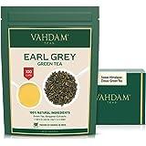 Foglie Di Tè Verde Dell' Himalaya Earl Grey, 200g (100 tazze) | Tè Verde Darjeeling di alta qualità mescolato con estratti na