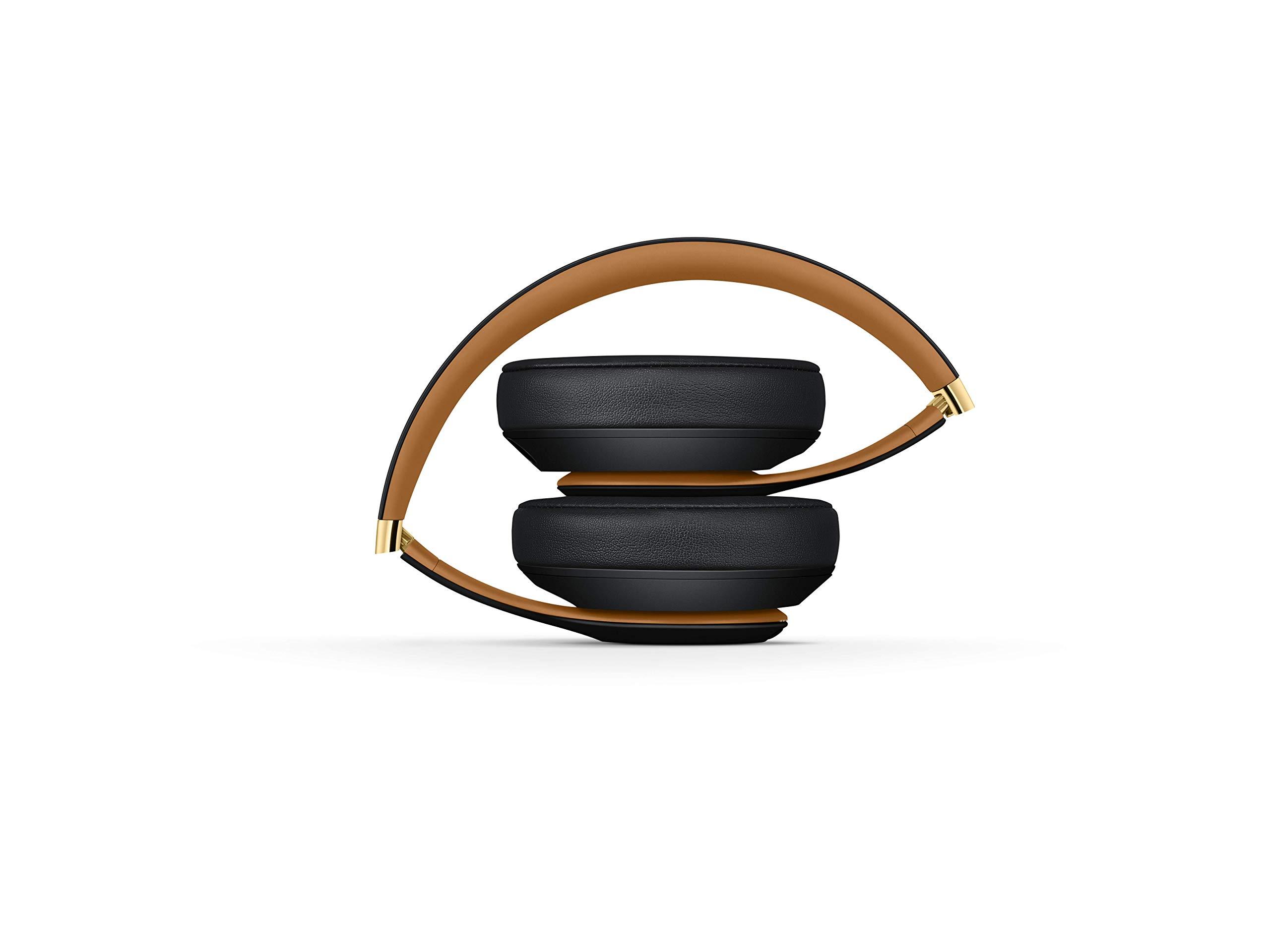 BeatsStudio3Over-EarBluetooth Kopfhörer mit Noise-Cancelling– AppleW1Chip, Bluetooth der Klasse1, aktives Noise-Cancelling, 22Stunden Wiedergabe– Nachtschwarz