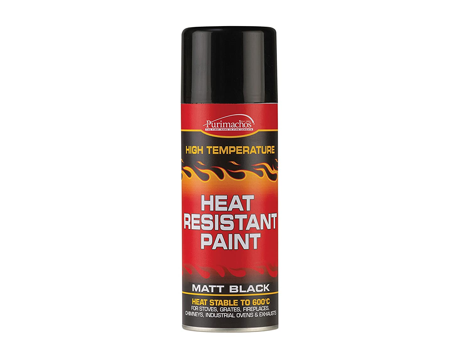 Free delivery and returns on all eligible orders. Shop Everbuild EVBPCHP125 125 ml Heat Resistant Paint - Matt Black.