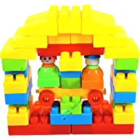 FunBlast DIY Building Blocks for Kids Toy Block with 2 Mini Robot Toy for Kids Learning Toys for Kids - 40 Pcs…