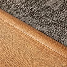 2 x Stikatak Laminate Self-Adhesive Transition Strip - Dark Oak - 90cm