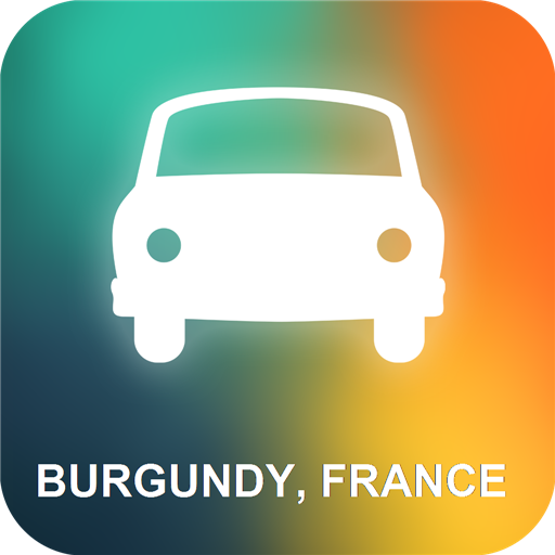 Burgund, Frankreich GPS (Burgund Italienisch)