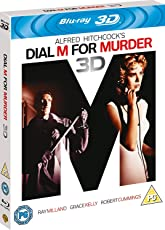 Alfred Hitchcock's Dial M for Murder (Blu-ray 3D) (Region Free + Fully Packaged Import)