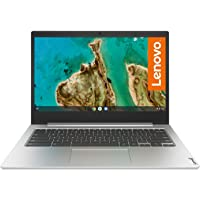 Lenovo IdeaPad 3 Chromebook Laptop 35,6 cm (14 Zoll, 1366x768, HD, entspiegelt) Slim Notebook (Intel Celeron N4020, 4GB…