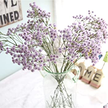 a06a18651d5 Buy Coohole Artificial Gypsophila Floral Flower Artificial Silk ...