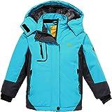 Wantdo Chaquetas de Esquí Impermeable Montaña Abrigo Snowboard para Exteriores Parka de Nieve con Capucha Chaqueta Aislada co