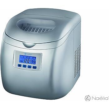 Naelia COL-06601-NAE Machine à Glaçons 36 x 29,6 x 33,7 cm