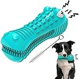 EZSMART Giocattolo da Masticare per Cani per masticatori aggressivi, Giocattolo Cane indistruttibile, Giochi con Squeak Latte