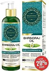 Morpheme Remedies Pure Bhringraj Oil (No Mineral Oil), 120ml
